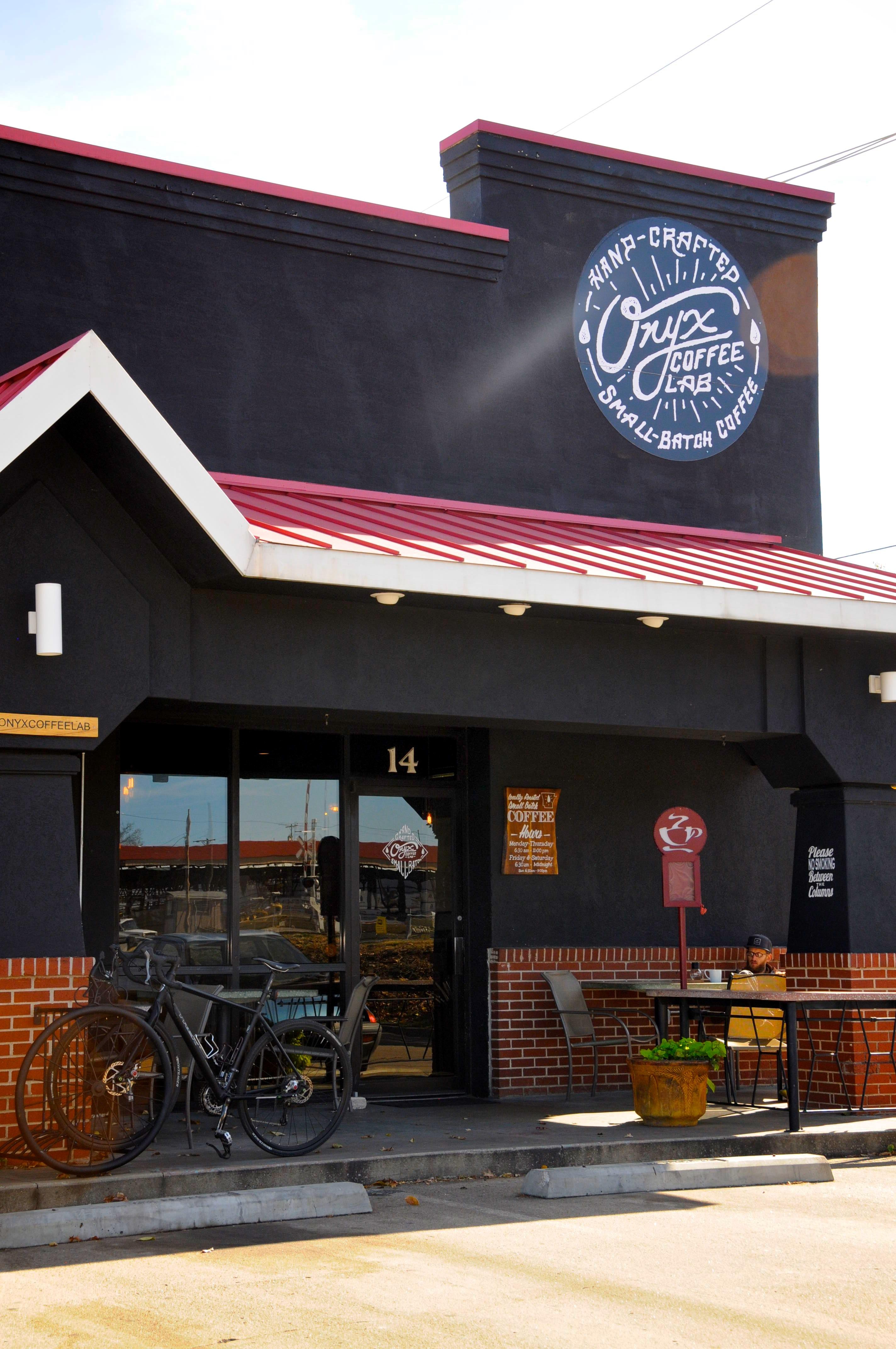 Busy Street Sidewalk 7 Fayetteville Coffee ...