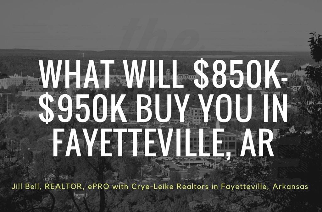 Current Real Estate Market in Fayetteville, Arkansas