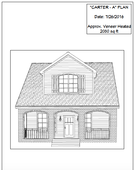Woodbury home plan