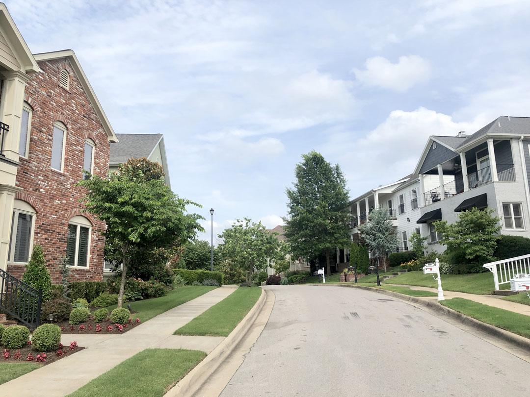 Charleston Place neighborhood in Fayetteville AR