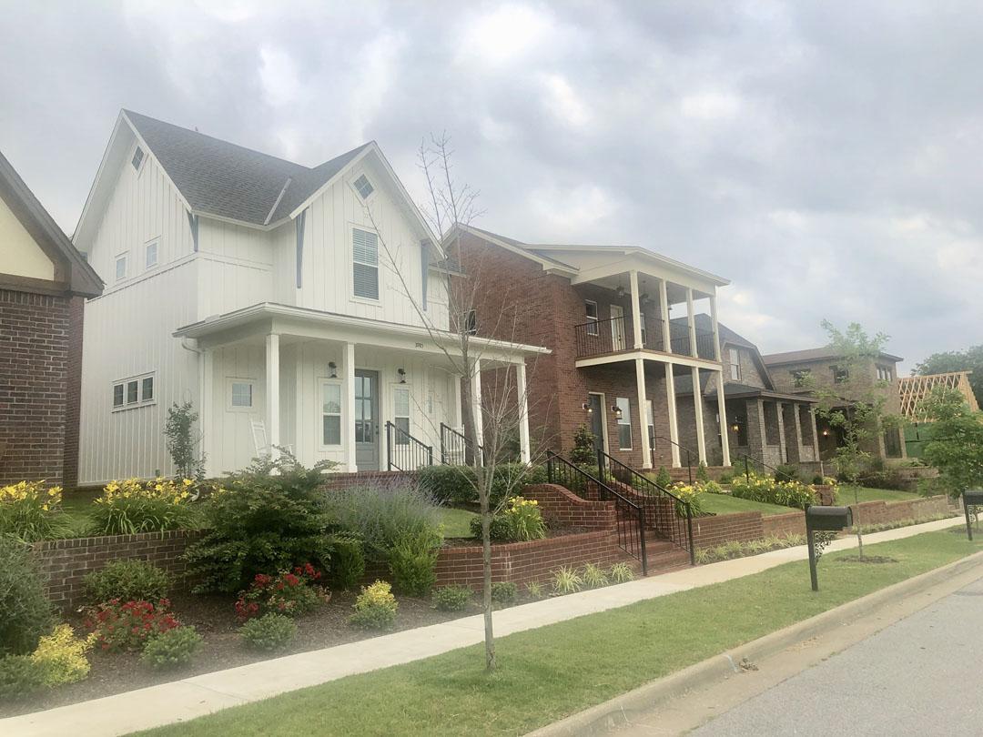 Oakbrooke neighborhood in Fayetteville AR