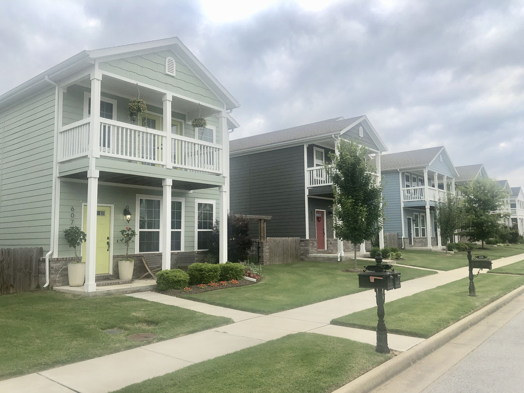Rupple Row Subdivision in Fayetteville AR