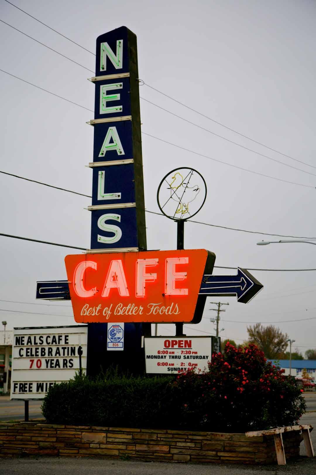 Neals Cafe Landmark Real Estate in springdale ar
